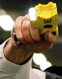 stun gun and taser combination