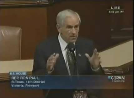 Ron Paul speech to end TSA abuse