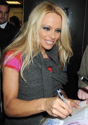Pamela Anderson, stalker, and pepper spray saga